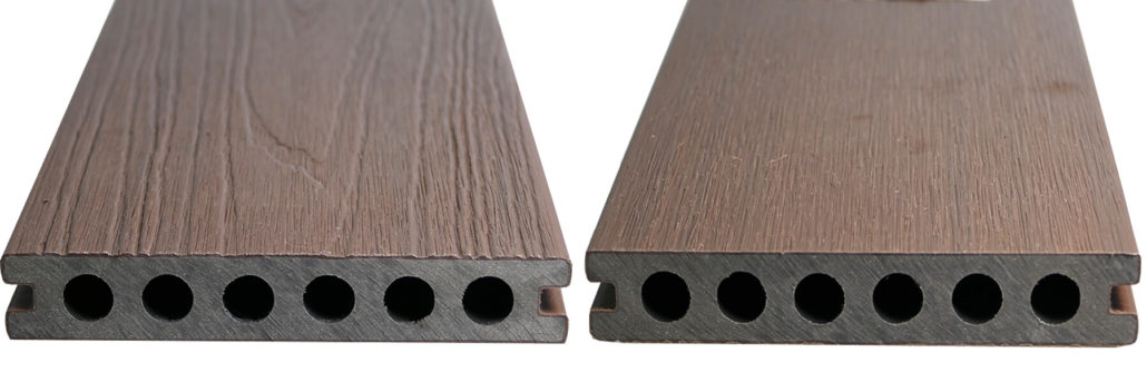 WPC CO-EXTRUSION WALNUT