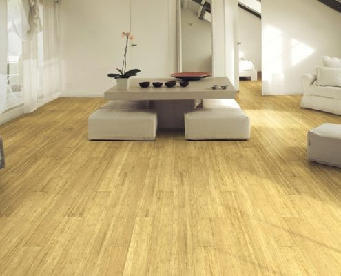 Parquet Bambu Strand Honey